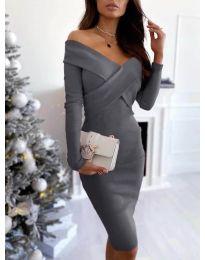 Фустан - код 6130 - сиво