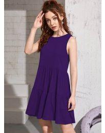 Фустан - код 4471 - темно виолетова
