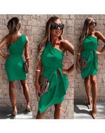 Фустан - код 2457 - зелена