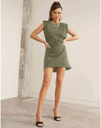 Фустан - код 625 - путер зелена