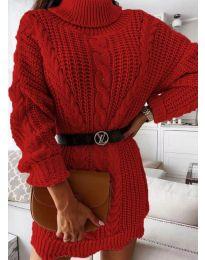Фустан - код 6071 - црвена