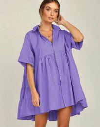 Фустан - код 6464 - виолетова