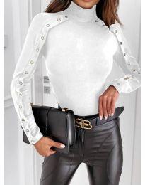 Блуза - код 4179 - бело