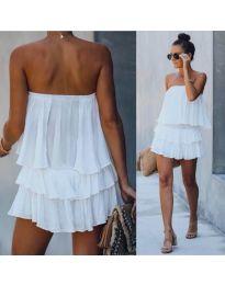Фустан - код 0489 - бело