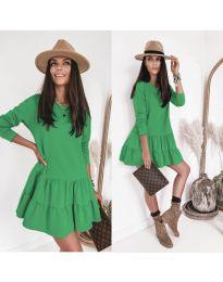 Фустан - код 8486 - зелена