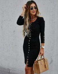 Фустан - код 5822 - 1 - црна