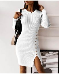 Фустан - код 3200 - бело