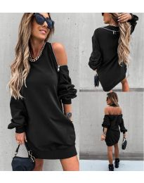 Фустан - код 296 - црна