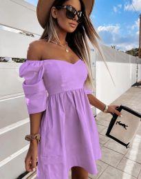 Фустан - код 7413 - виолетова