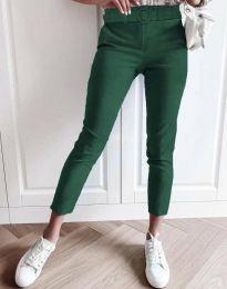 Панталони - код 5043 - 3 - зелена