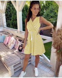 Фустан - код 3148 - жолта