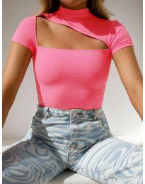 Блуза - код 1316 - розова