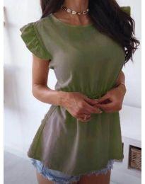 Блуза - код 742 - зелена