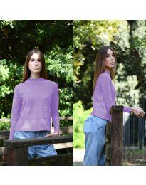 Блуза - код 912 - виолетова