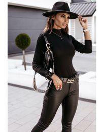 Блуза - код 4113 - црна
