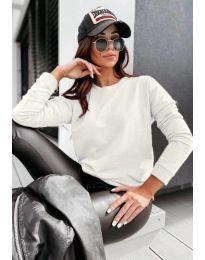 Блуза - код 5582 - бело