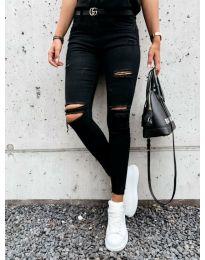 Фармерки - код 3781 - 1 - црна