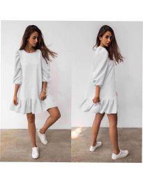 Фустан - код 784 - бело