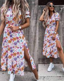 Фустан - код 6213 - цветна