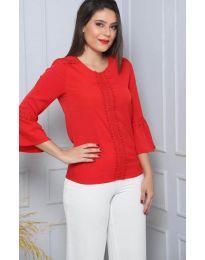 Блуза - код 0629 - 1 - црвена