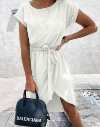 Фустан - код 2074 - бело