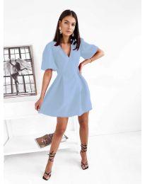 Фустан - код 0807 - светло сина