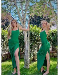 Фустан - код 7858 - зелена