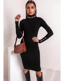 Фустан - код 11513 - црна