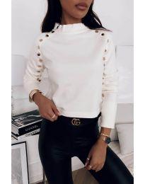 Блуза - код 2899 - 1 - бело