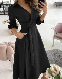 Фустан - код 2861 - црна