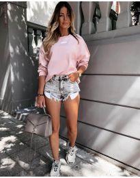 Блуза - код 5154 - розова