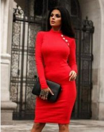 Фустан - код 9768 - 1 - црвена
