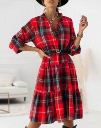 Фустан - код 6842 - црвена