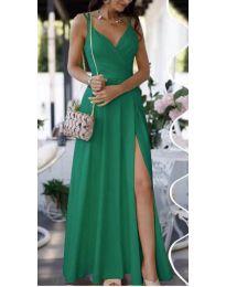 Фустан - код 8489 - зелена