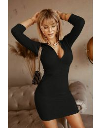 Блуза - код 3107 - црна