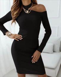 Фустан - код 4859 - црна