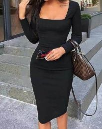 Фустан - код 4521 - црна