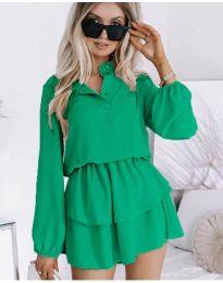 Фустан - код 4093 - зелена
