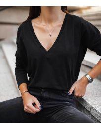 Блуза - код 3330 - црна