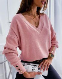 Блуза - код 5236 - розова