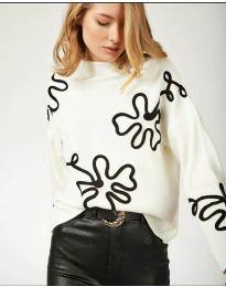 Блуза - код 375 - бело