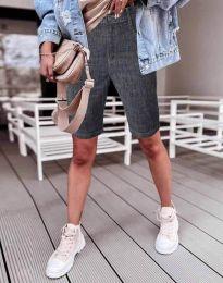 Кратки панталони - код 0220 - 1 - графитна