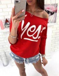 Блуза - код 0996 - 2 - црвена