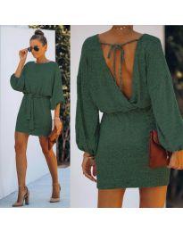 Фустан - код 940 - путер зелена