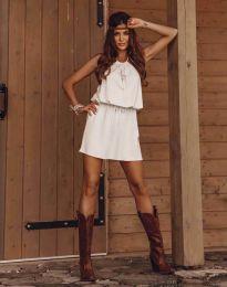 Фустан - код 8399 - бело