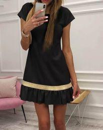 Фустан - код 2532 - 1 - црна