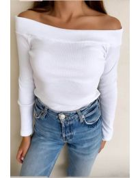 Блуза - код 3234 - бело