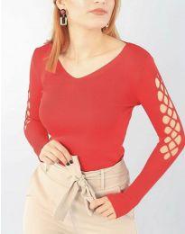 Блуза - код 6776 - црвена