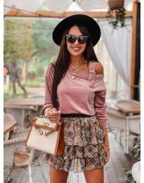 Блуза - код 280 - пудра