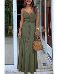 Фустан - код 2050 - путер зелена